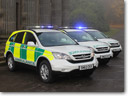 Third generation Honda CR-V Paramedic Response Unit