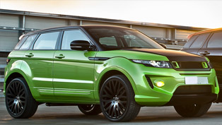 Kahn RS250 Range Rover Evoque - The Green Pearl