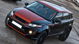 Full of Style and Charisma: Kahn Range Rover Evoque RS250 Vesuvius Edition