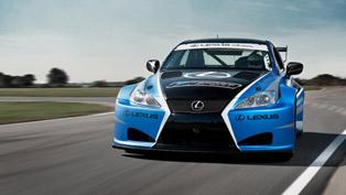 Lexus IS F Race Car Generates 600 Horsepower