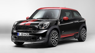 mini paceman john cooper works to debut at naias