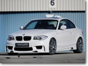 Facelifted: Rieger BMW 1er Coupe