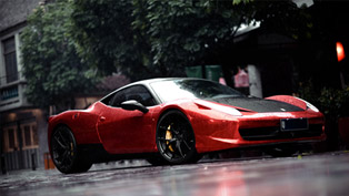 Sr Auto Ferrari 458 Italia Reaches China