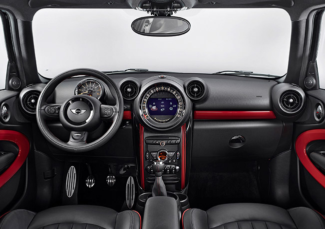 MINI Paceman John Cooper Works Interior