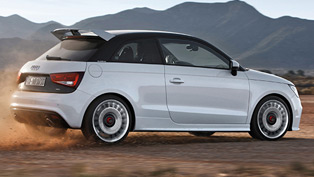 Audi A1 Quattro in Action [video]