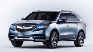 2013 NAIAS: Acura Reveals MDX Prototype [VIDEOS]