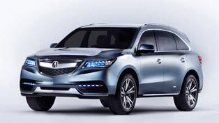 2013 NAIAS: Acura Reveals MDX Prototype [VIDEOS]
