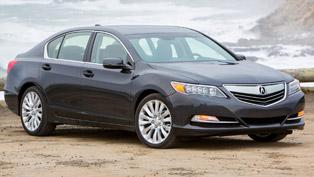2014 Acura RLX Flagship Sedan - US Price $48,450