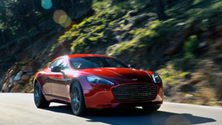 World Debut: Aston Martin Rapide S [VIDEO]