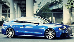 Audi RS5 on 20