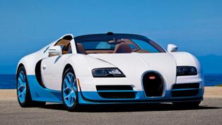 Bugatti Veyron 16.4 Grand Sport Vitesse Debuts at the 2013 Qatar Motor Show