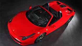 Capristo Ferrari 458 Spider Shows New Hood