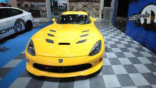 mopar's garage at chicago auto show