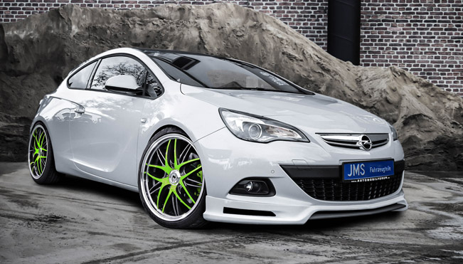 jms opel astra j gtc coupe shows exclusive styling. Black Bedroom Furniture Sets. Home Design Ideas