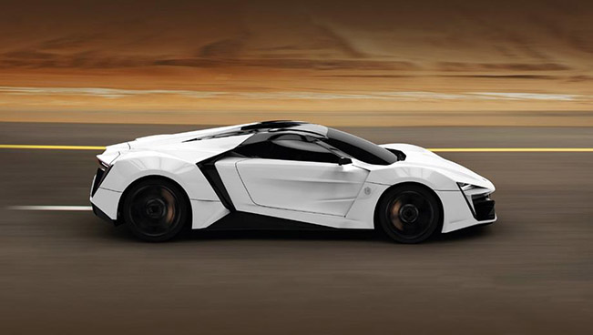 Lykan hypersport by w motors for W motors lykan hypersport price
