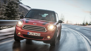 mini expands its all-wheel-drive range