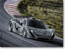 Next Steps Towards Production: McLaren P1 Development Car [VIDEO]