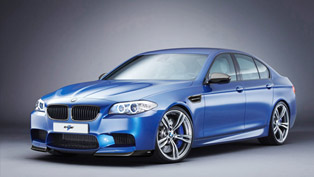 revozport bmw f10 m5 rz with new aerokit