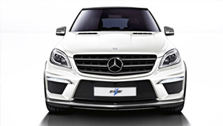 Revozport Mercedes-Benz W166 ML63 Rezonance Delivers 600 Horsepower