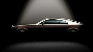 Teaser: Rolls-Royce Wraith In Profile