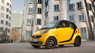 smart fortwo cityflame edition adds more colour to the urban life