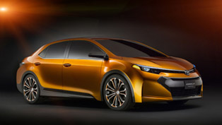 2013 NAIAS: Toyota Corolla Furia Concept Makes Official World Debut