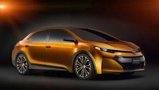 2013 NAIAS: Toyota Corolla Furia Concept Makes Official World Debut