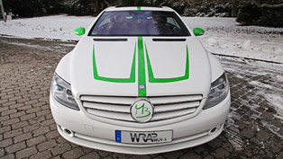 Mercedes-Benz CL 500 Foliation by Wrap Works