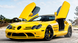 Renntech Mercedes McLaren SLR with ADV05 Deep Concave wheels