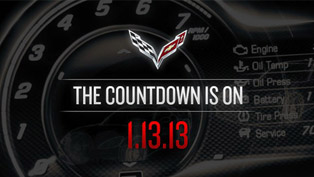 The Countdown Is On: 2014 Chevrolet Corvette C7 [VIDEOS]