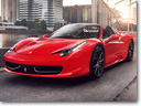 """Ferrari 458 Italia Spider - """"Best Cabriolet"""" Award"""