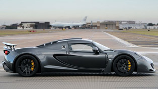 worlds fastest production car from 0 300 kmh hennessey venom gt