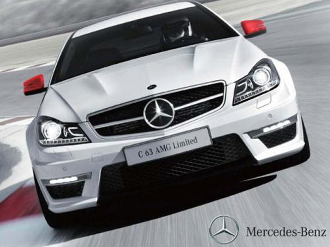 2013 mercedes-benz c63 amg special edition for japan