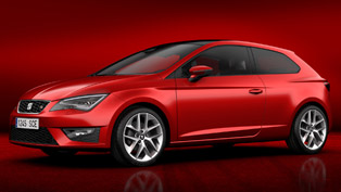 2013 Seat Leon SC at the Geneva Motor Show