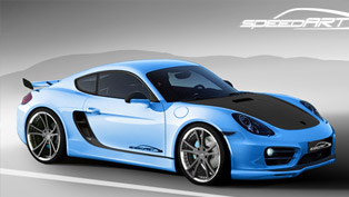 Teaser: 2013 SpeedART Porsche Cayman SP81-CR