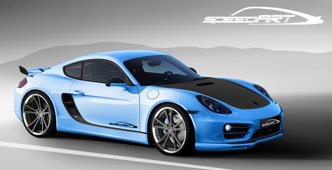 Teaser 2013 Speedart Porsche Cayman Sp81 Cr