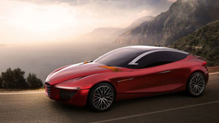alfa romeo gloria ied concept with world premiere in geneva