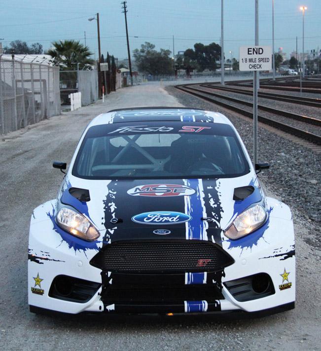 Champion Motors International: Ford Fiesta ST Global RallyCross Championship Race Car