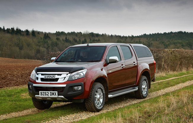 Seat Covers For Trucks >> Isuzu D-Max Eiger Equipped With Work And Work Plus ...