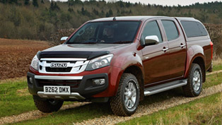 isuzu d-max eiger equipped with work and work plus accessory packs