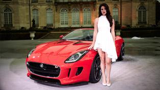 jaguar f-type featured in lana del rey's new video