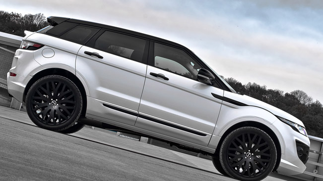 Kahn Range Rover Evoque Fuji White Rs250 Goes To Geneva