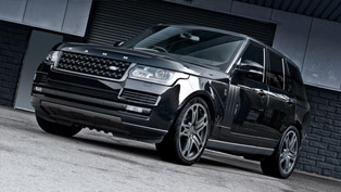 Kahn Range Rover Vogue Black Label Edition Adds More Style
