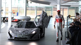 McLaren Shows P1 Prototype Driven by Jenson Button