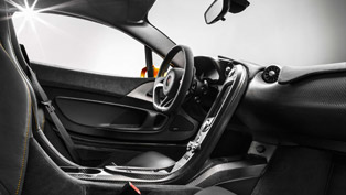 McLaren P1 Interior - First Pictures