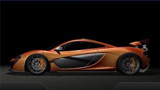 McLaren P1 at the 2013 Geneva Motor Show