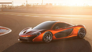 Exclusive: McLaren P1 With New Images Form Bahrain