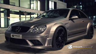 Prior-Design Mercedes-Benz CLK PD Black Edition Shows More Assets