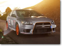 Steel Grey Stealth Fighter: Schwabenfolia Mitsubishi Lancer Evo X