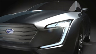 Subaru VIZIV Concept With World Premiere at Geneva Motor Show [TEASER]